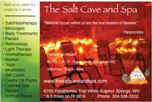 Salt Cave and Spa. White Sulphur Springs, WV