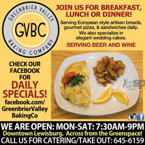 Greenbrier Valley Baking Company Lewisburg, WV
