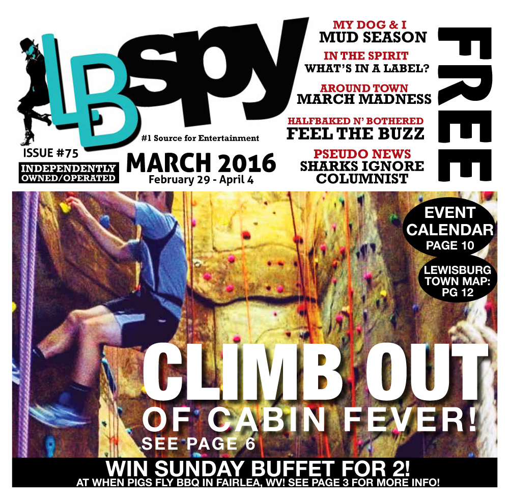 LBSPY March 2016: Climb out of Cabin Fever