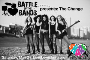 The Change at Share the Love Fest