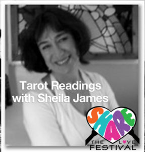 Sheila James at Share the Love Fest