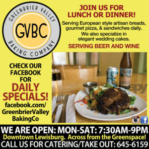 Greenbrier Valley Baking Company GVBC Lewisburg WV