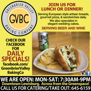 Greenbrier Valley Baking Company Lewisburg WV