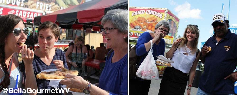 Bella the Corner Gourmet at WV State Fair