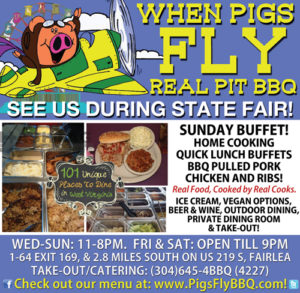when pigs fly lewisburg wv