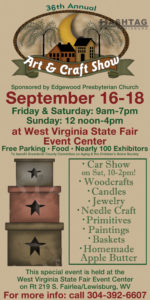 Arts and Crafts Show WV State Fairgrounds