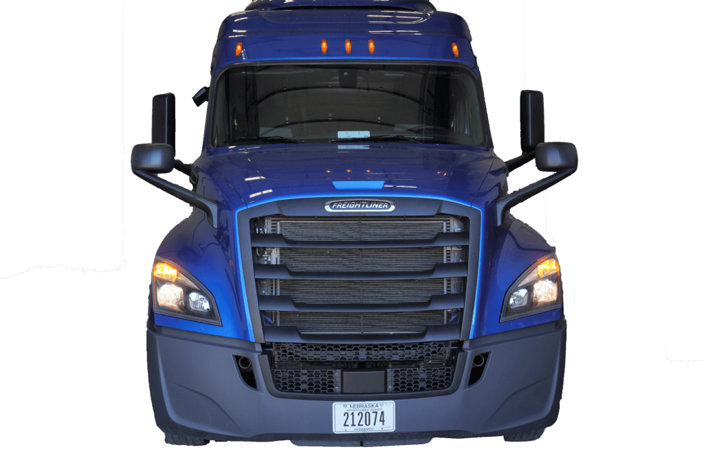 New Freightliner Cascadia transparent background