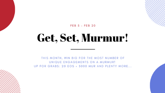 February MUR token giveaway