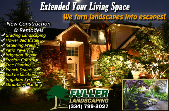 Landscaping Company Prattville, AL