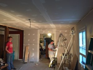 sheetrock finishing prattville al