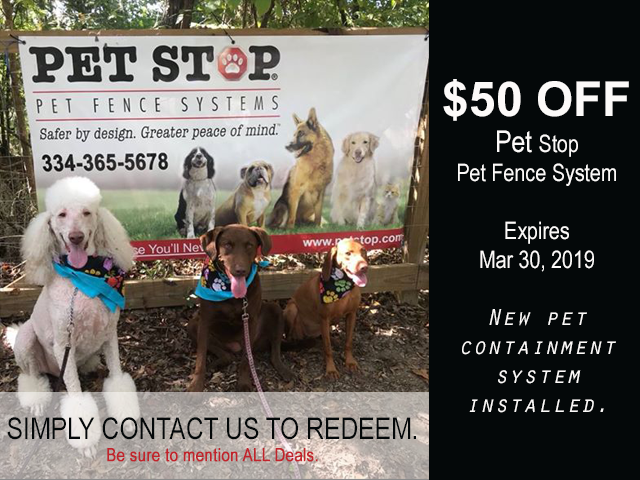 prattville al pet containment systems