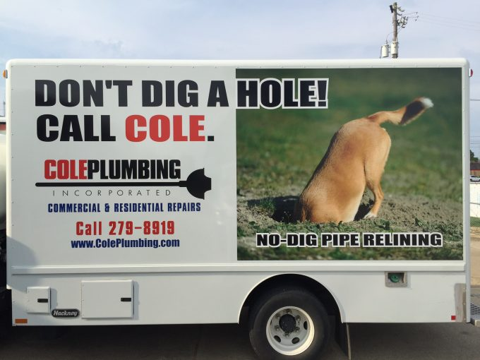 Don't Dig a Hole... Call Cole!