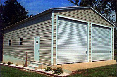Metal garages in Prattville and Millbrook, AL