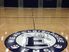 Gymnasium floor refinishing in Alabama.