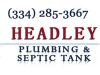 Headley Plumbing & Septic Tank Service Prattville, AL