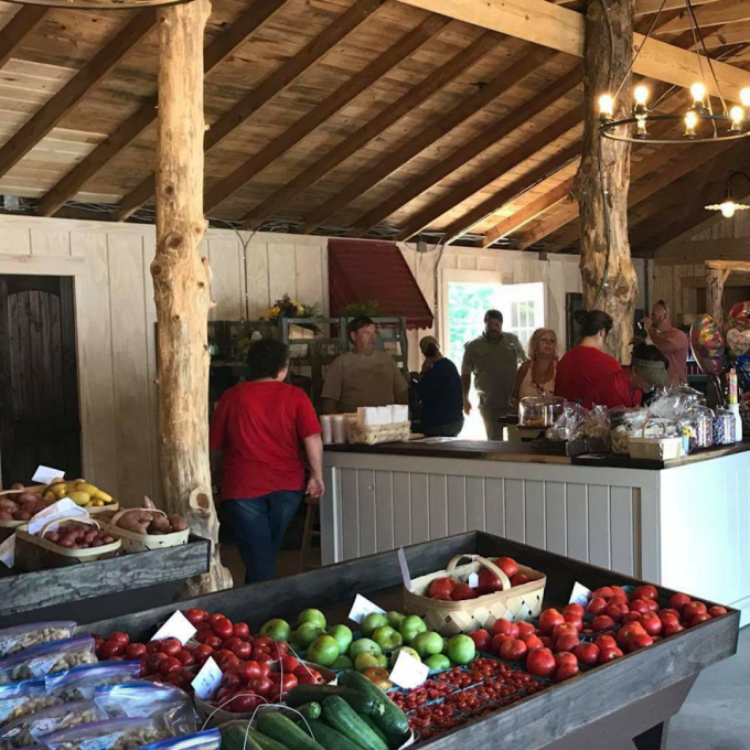 Come spend the day buying fresh produce at Kendrick Farms