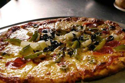 Pizza at Pasta Pizzeria