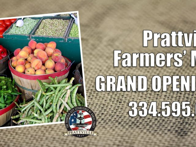 Prattville Farmer's Market Grand Opening