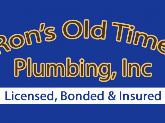 Ron's Old Time Plumbing