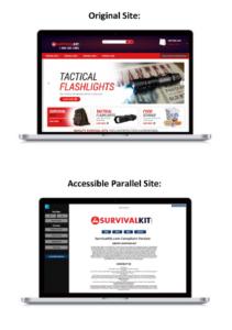 parallel website example