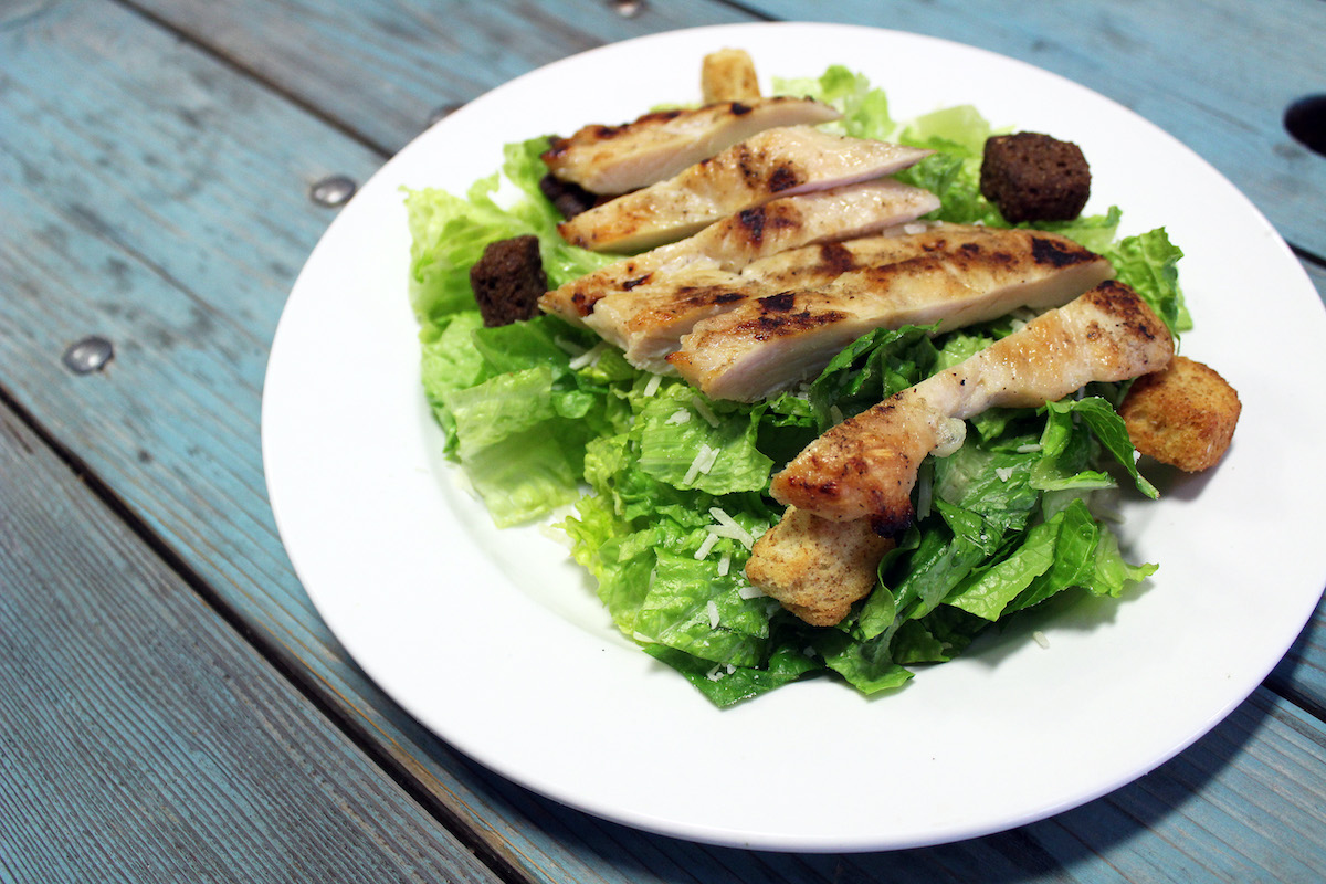 Grilled Chicken Sees A Salad