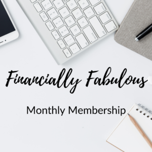 Financial Wellness with Vicki Monthly Membership