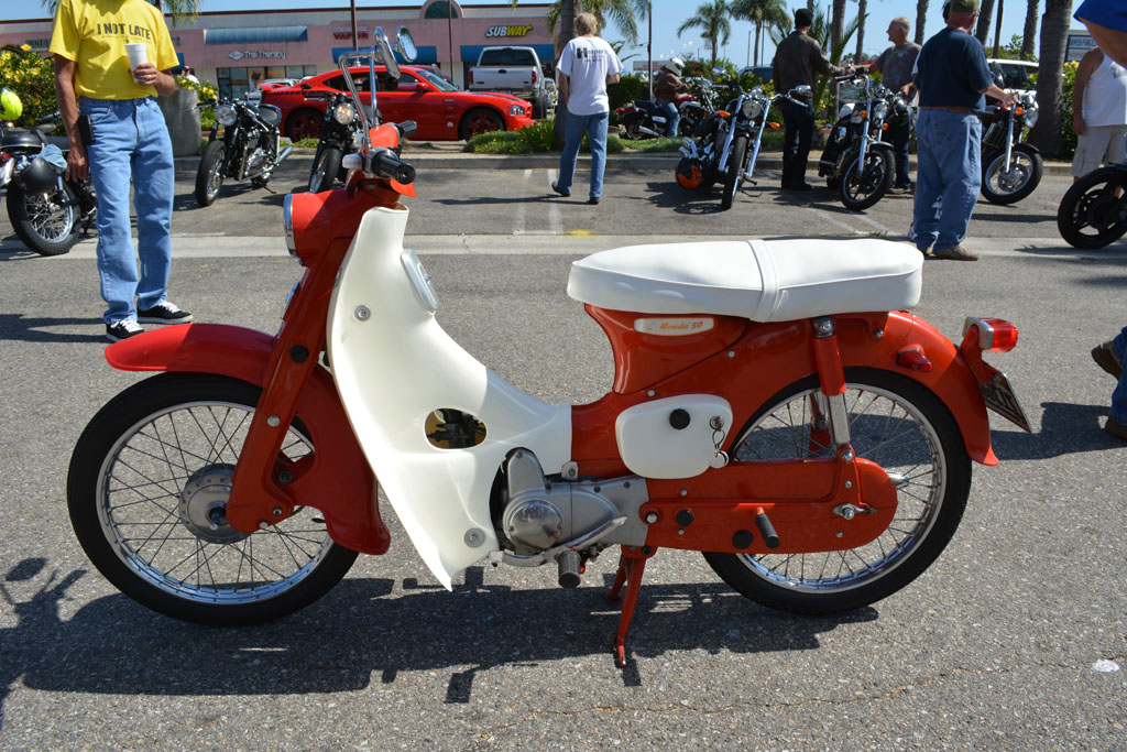 1963 Honda CA102 or Cub 50 with electric start and turn signals