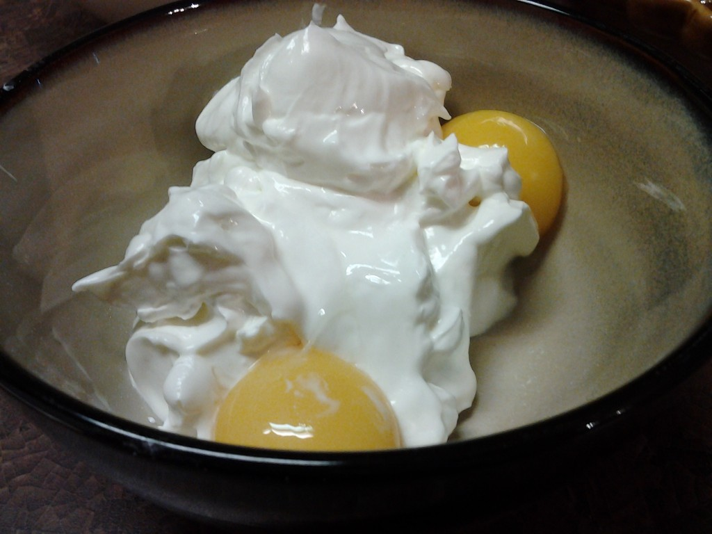 Sour Cream and Egg Yolks