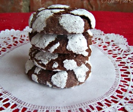 Chocolate Cracklen cookies