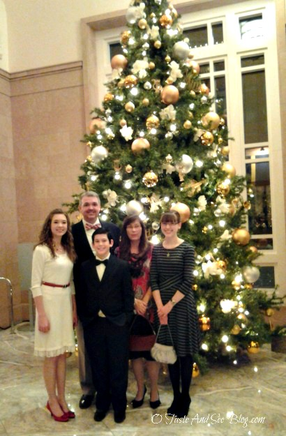 Family at the Messiah 44