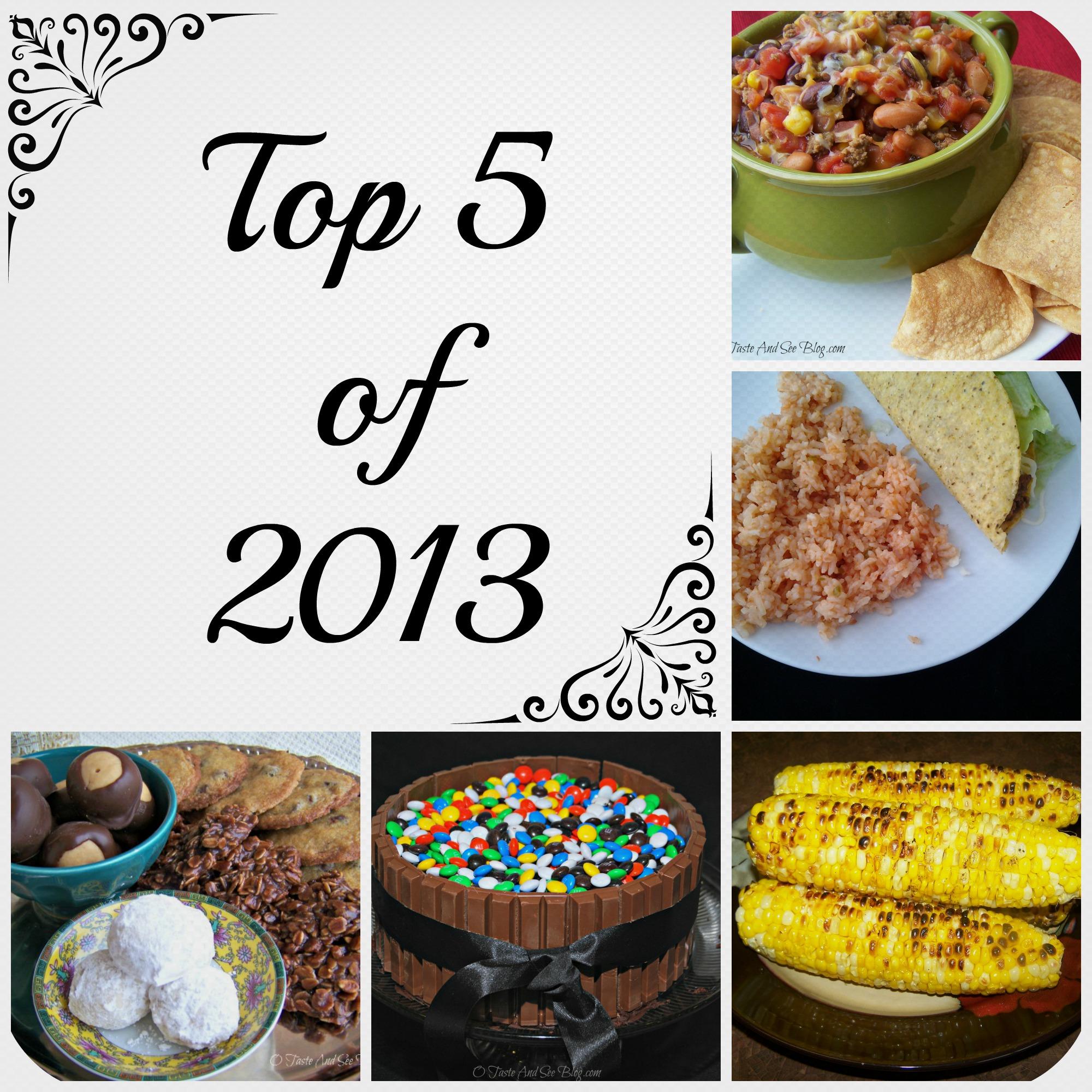 top 5 of 2013