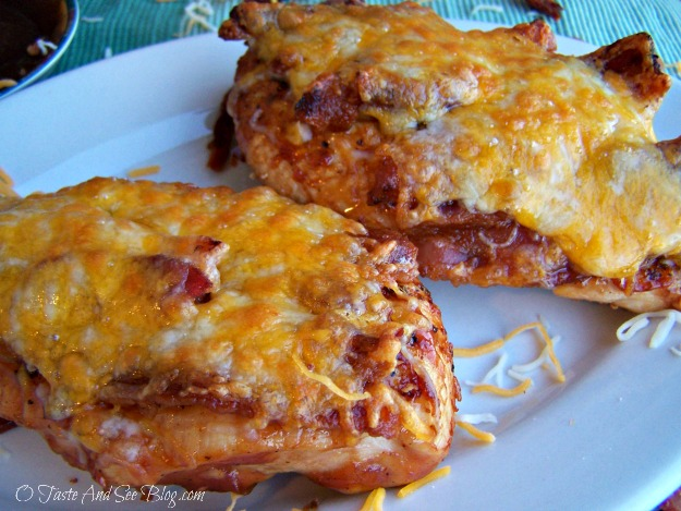 bbq chicken with bacon and cheese 059