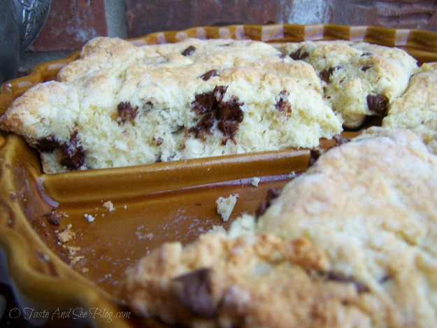 Choc Chip Scones 038