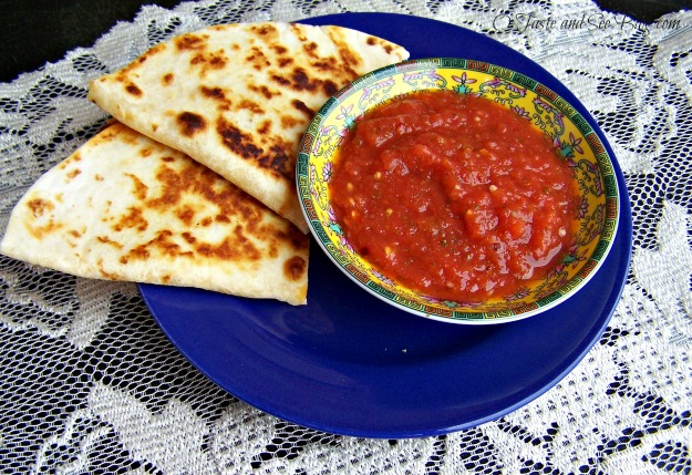 Chorizo quesadillas 079