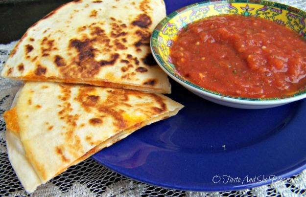 Chorizo quesadillas 083