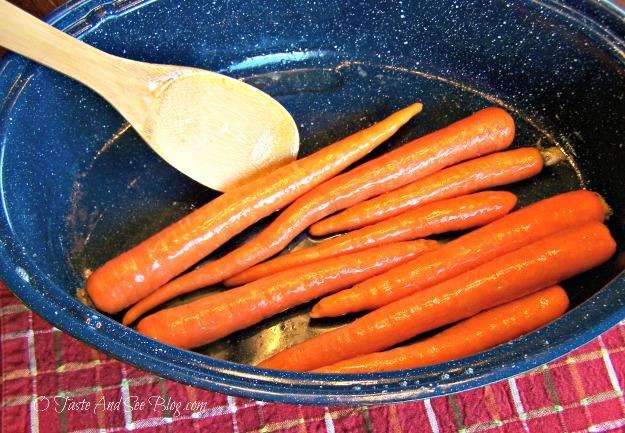 honey roasted carrots 003