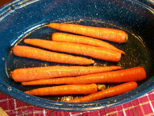 honey roasted carrots 006