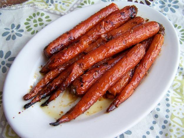 honey roasted carrots 013