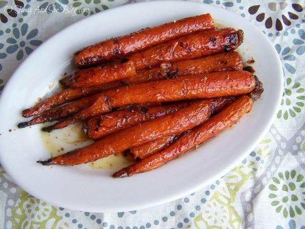 honey roasted carrots 015