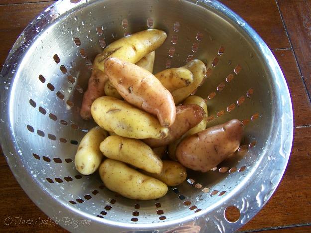 Asiago Garlic Finger Potatoes 002