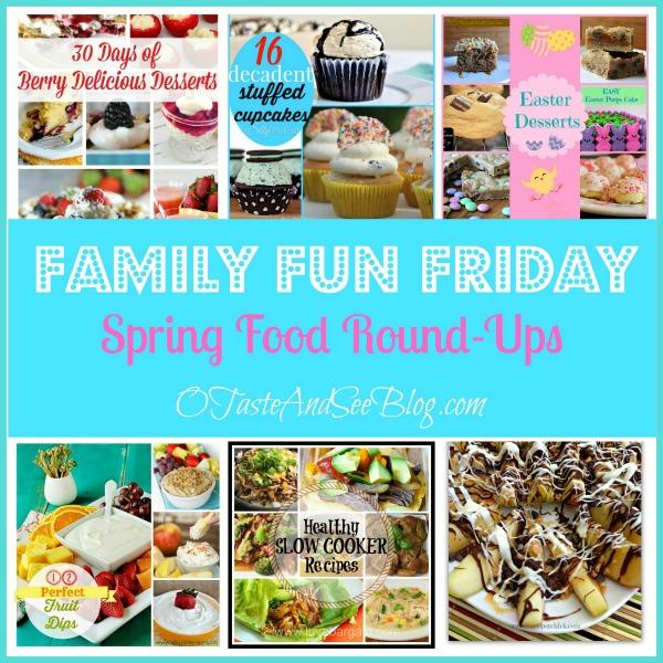 Spring Food Round ups