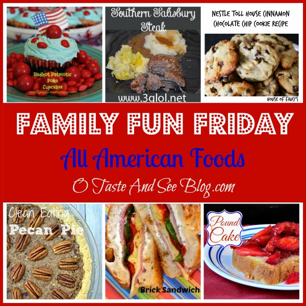All American Foods on Family Fun Friday