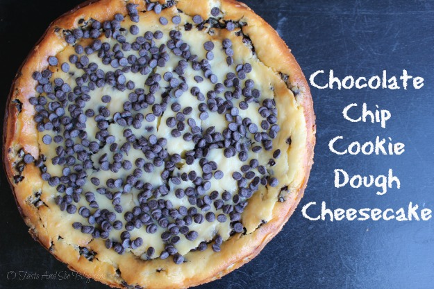 Chocolate Chip Cookie Dough Cheese Cake 96