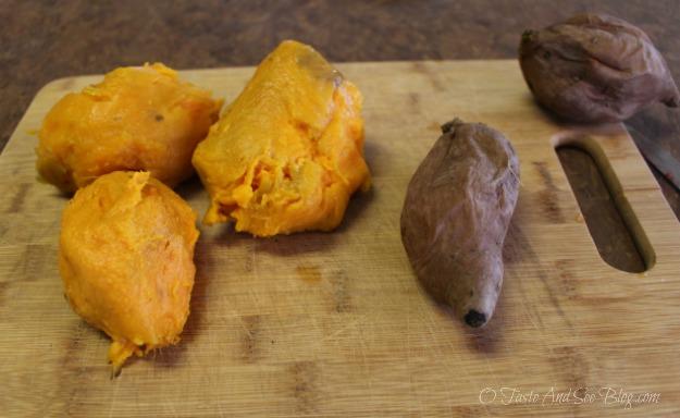 peeling sweet potatoes 095