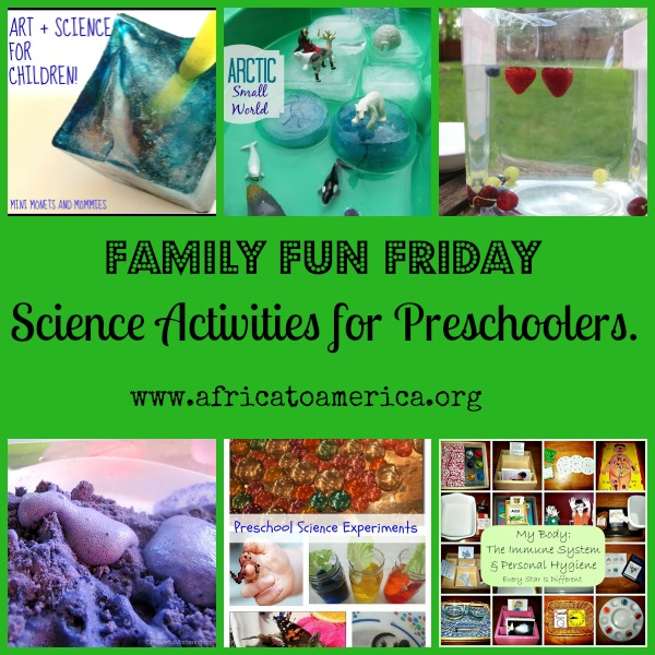 science activities for preschoolers