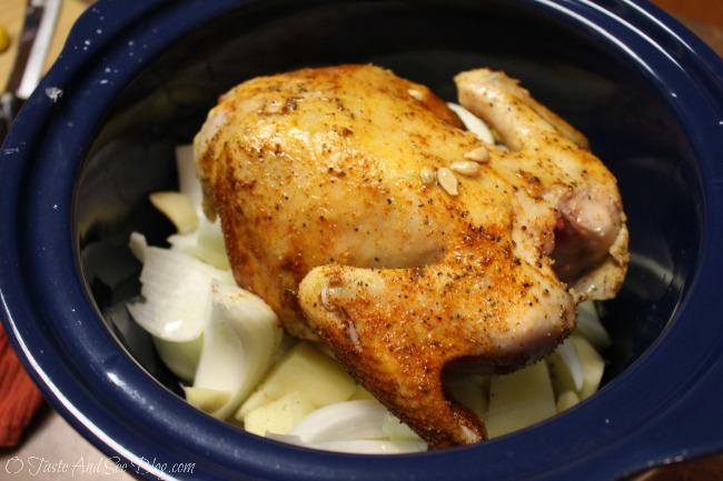 Southwest crockpot chicken 214