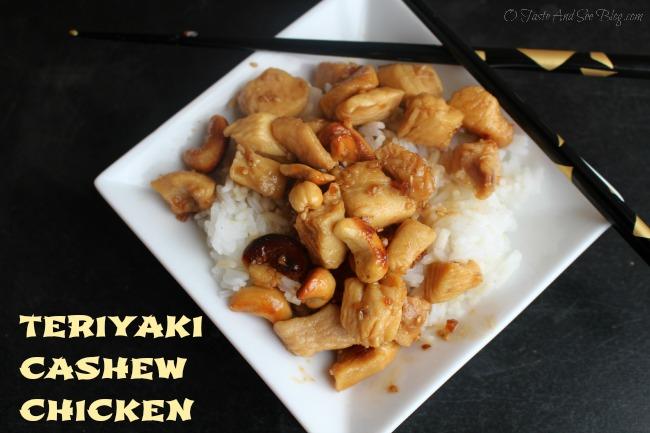 teriyaki cashew chicken 164