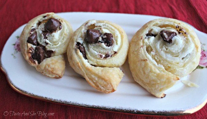 Chocolate Cherry Swirls #ad