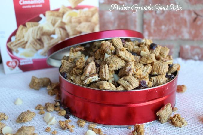 Praline Granola Snack Mix