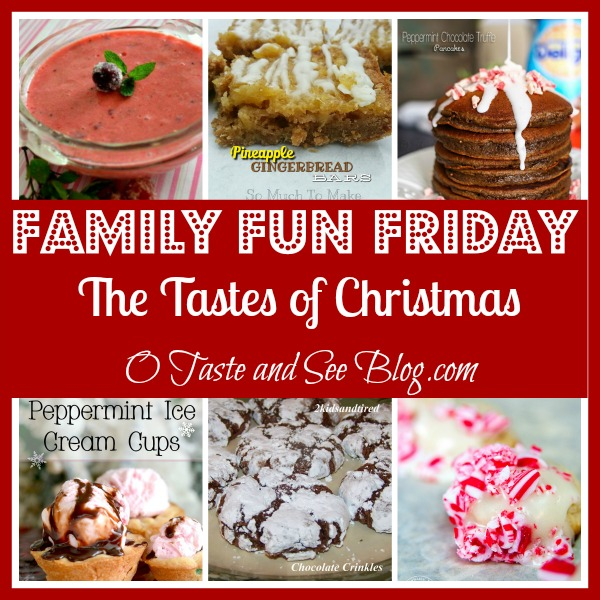 The Tastes of Christmas family fun friday
